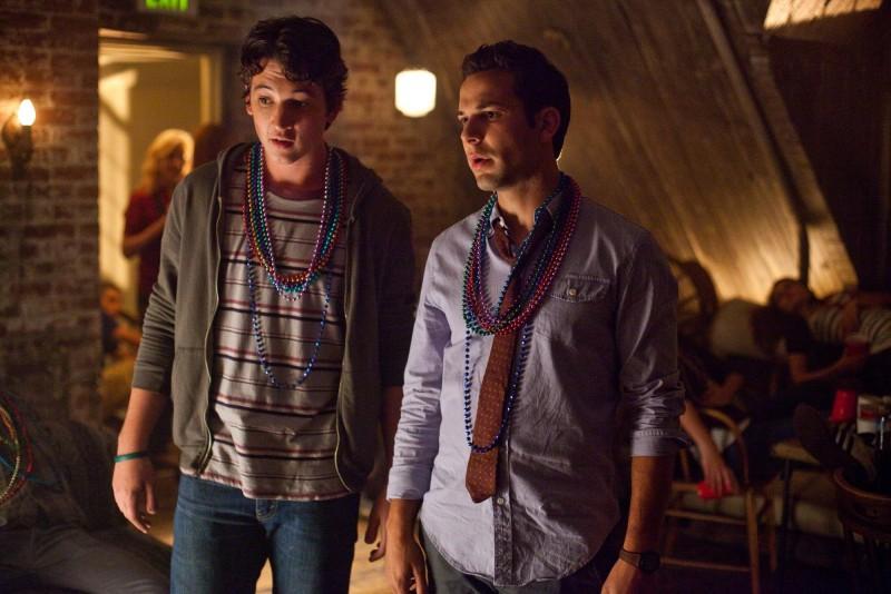 Miles Teller e Skylar Astin interpretano Miller e Casey in Un compleanno da leoni