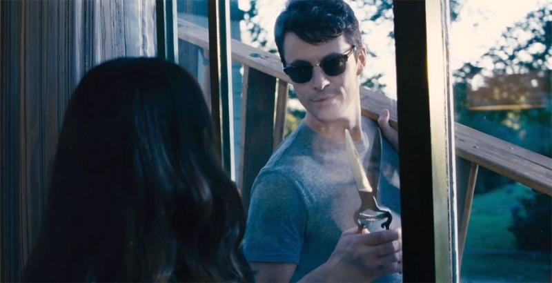 Stoker: Matthew Goode in una scena del film