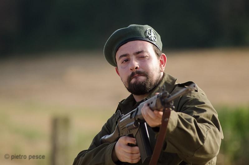 Michele Botrugno in una scena del film Fratelli Minori