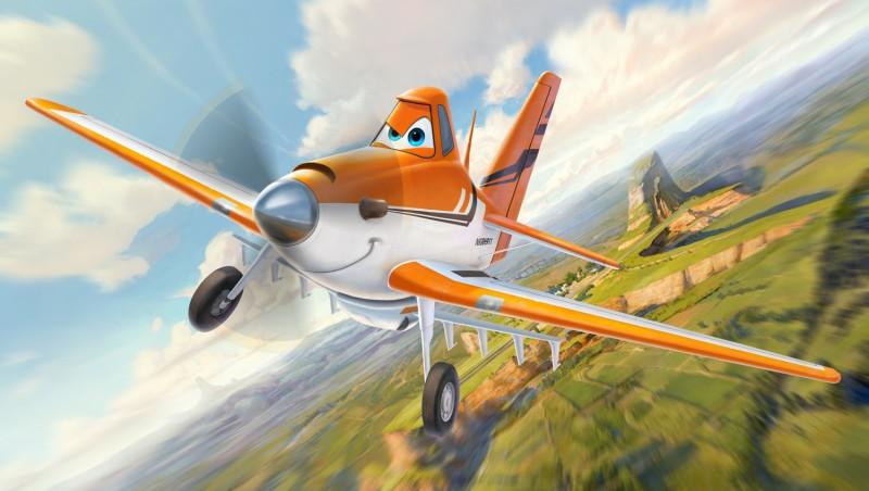 Planes: ecco Dusty, il protagonista del cartoon Disney