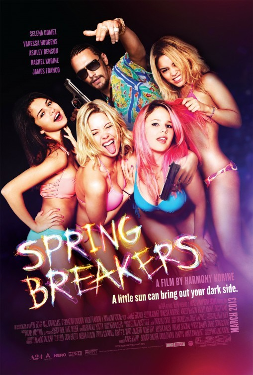 Spring Breakers: nuovo poster USA