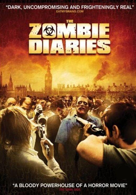 The Zombie Diaries: la locandina del film