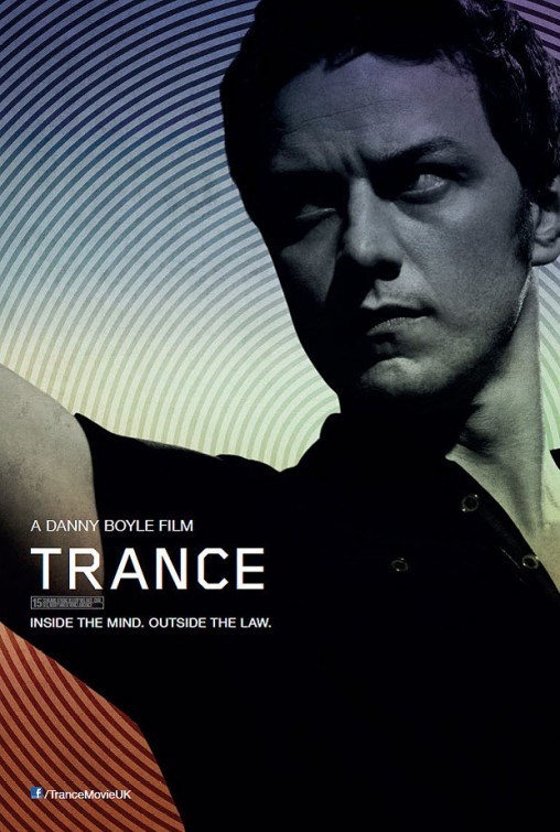 Trance: character poster per James McAvoy