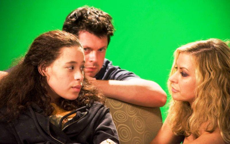 All You Can Dream: Anastacia con Hali Mason e con il regista Valerio Zanoli sul set
