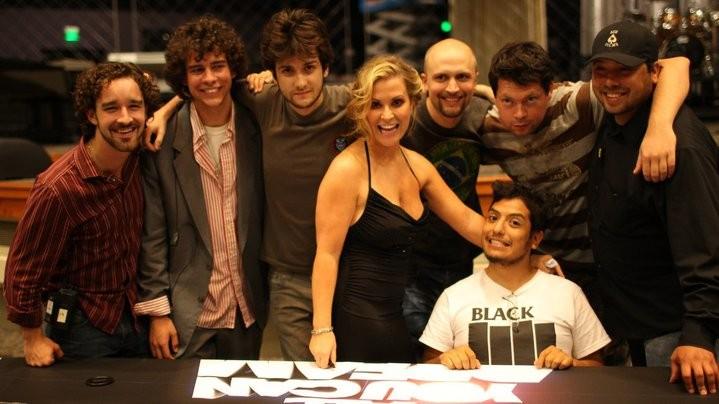 All You Can Dream: Anastacia con il regista Valerio Zanoli e tutta la troupe sul set