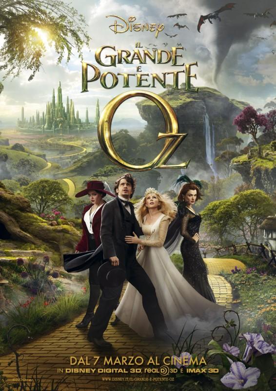 Il grande e potente Oz: ecco la locandina italiana