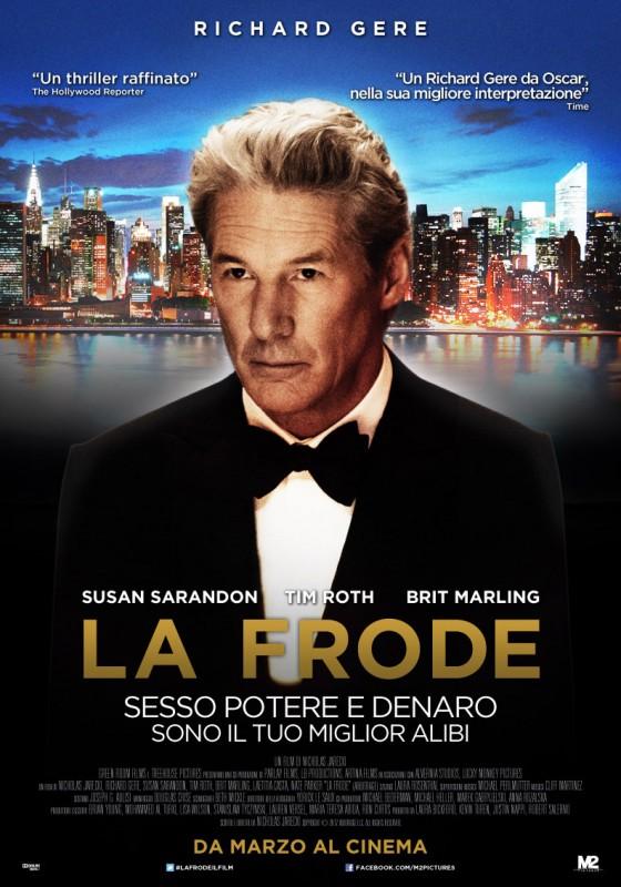 La frode: la locandina italiana del film