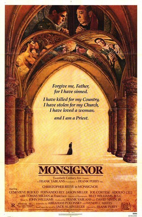 Monsignore: la locandina del film