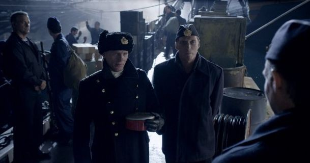 Phantom: Ed Harris in una scena con Lance Henriksen