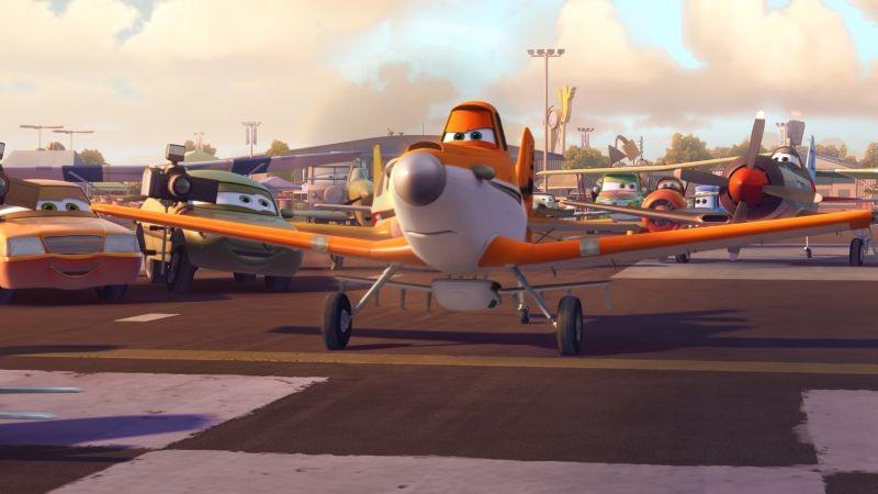 Planes: la prima immagine di Dusty, il protagonista del cartoon Disney