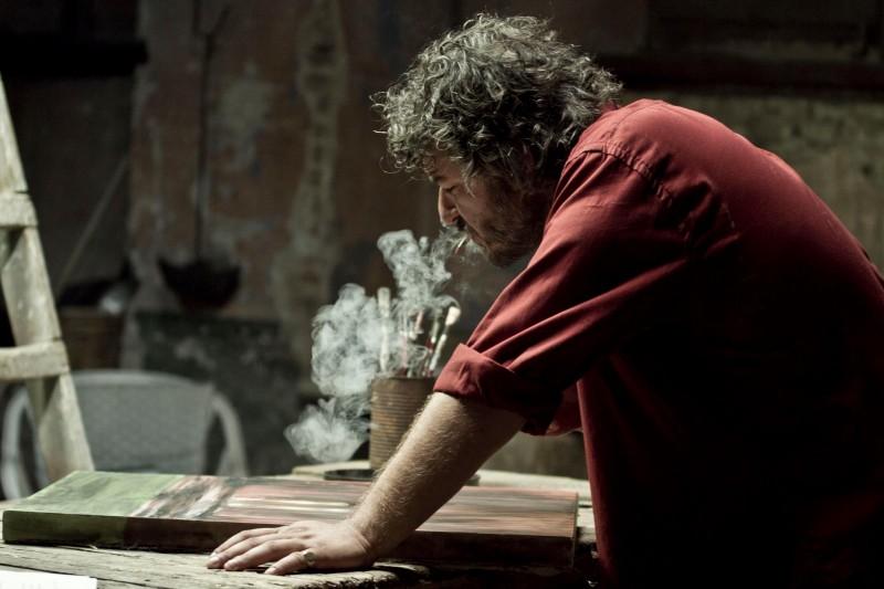 Roberto Galano sul set di PER 3 SOLDI