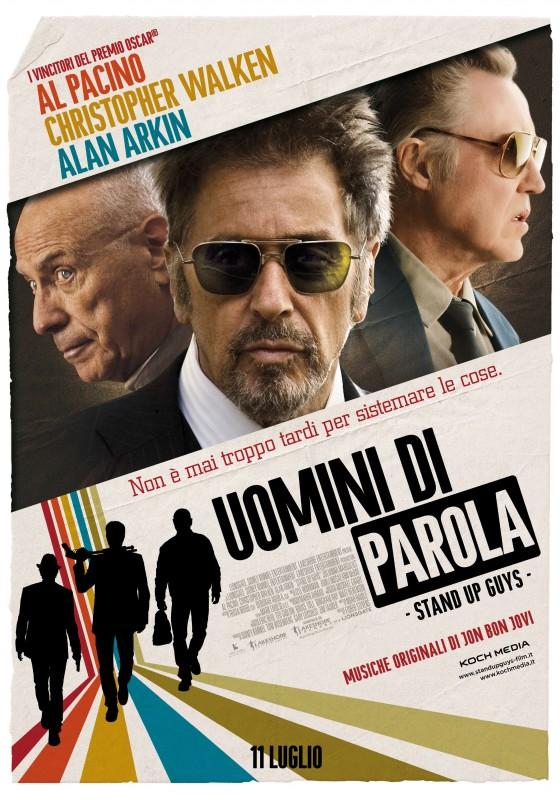 Stand Up Guys: la locandina italiana