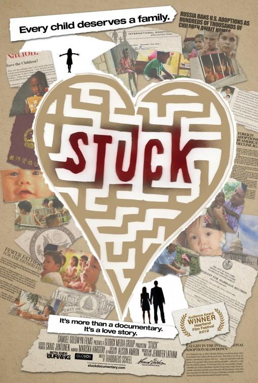 Stuck: la locandina del film