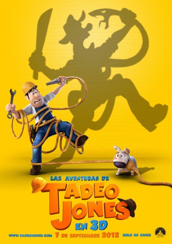 Tad, the Lost Explorer: la locandina del film