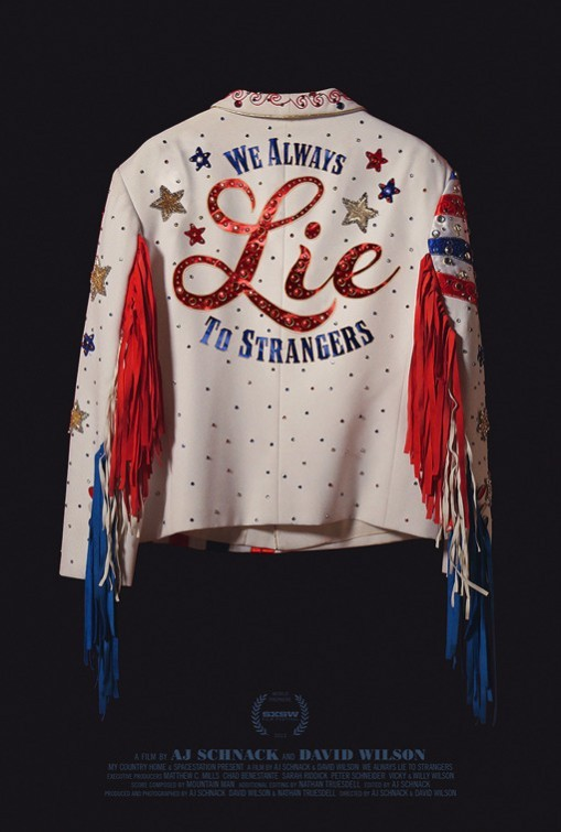 We Always Lie to Strangers: la locandina del film