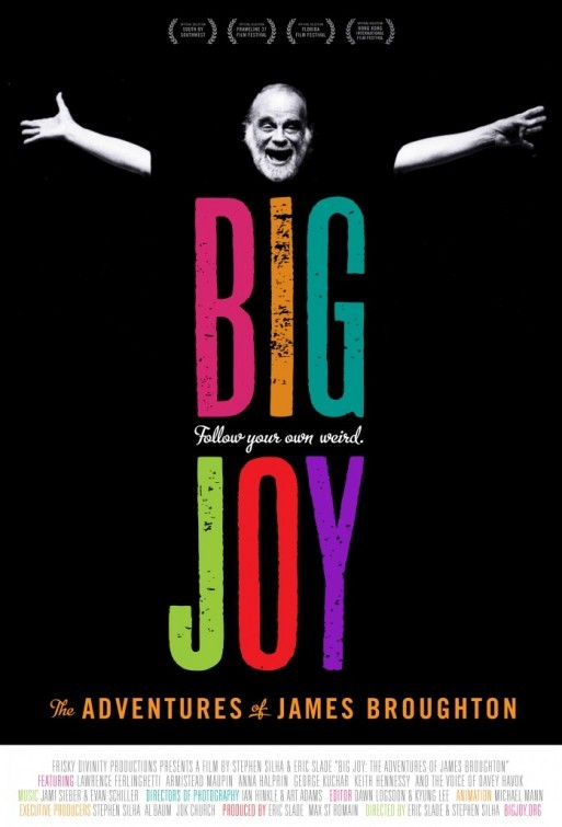 Big Joy: The Adventures of James Broughton: la locandina del film