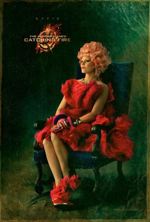 Hunger Games - La ragazza di fuoco: character poster di Elizabeth Banks
