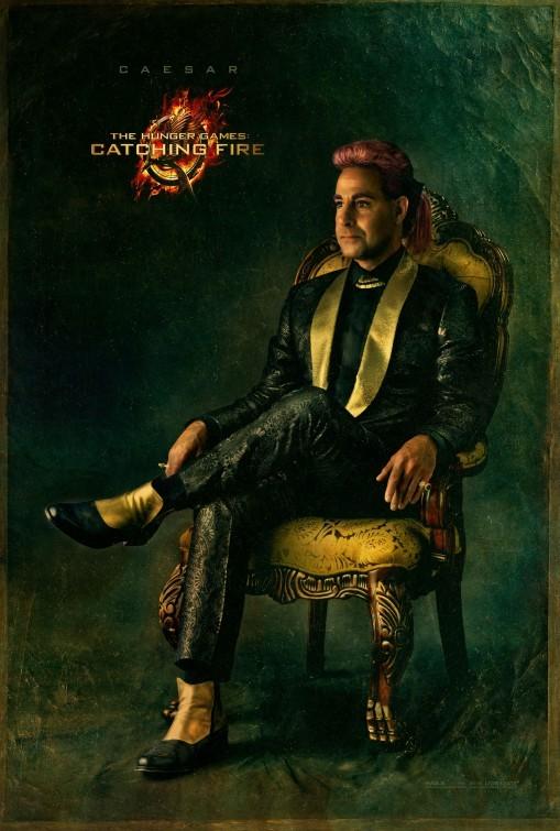 Hunger Games - La ragazza di fuoco: character poster di Stanley Tucci