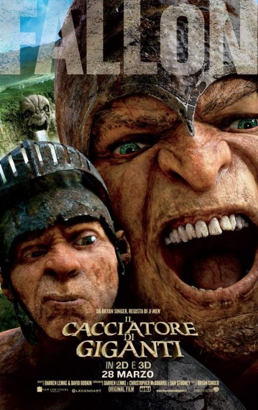 Il cacciatore di giganti: il character poster italiano con il capo dei giganti, il generale Fallon