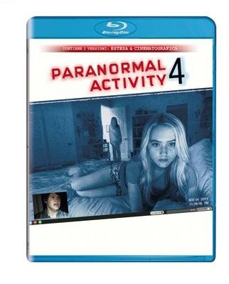 La copertina di Paranormal Activity 4 (blu-ray)
