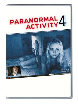 La copertina di Paranormal Activity 4 (dvd)
