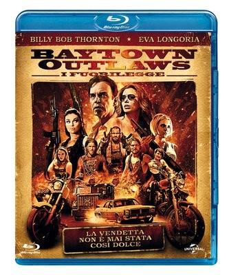 La copertina di The Baytown Outlaws (blu-ray)