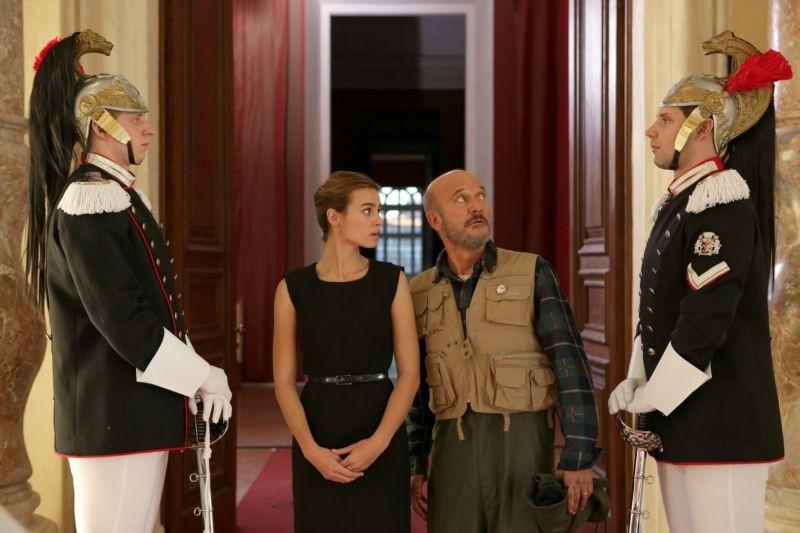 Benvenuto Presidente!: Claudio Bisio e Kasia Smutniak protagonisti del film diretto da Riccardo Milani