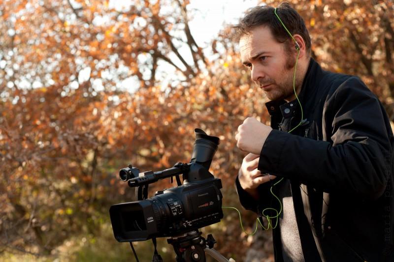 Bishonnen: Il regista Michele Pinto sul set del quarto episodio