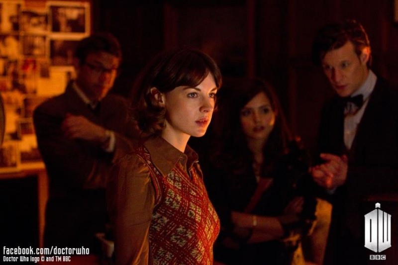 Doctor Who: Jessica Raine in una scena dell'episodio The Bells of St John