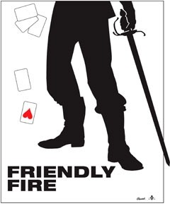 Friendly Fire: la locandina del film