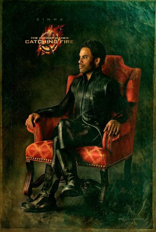 Hunger Games - La ragazza di fuoco: character poster di Lenny Kravitz