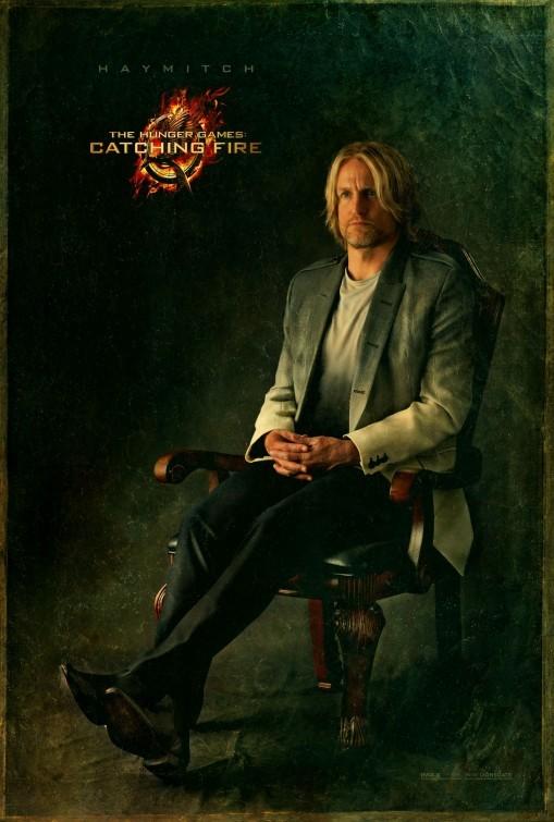 Hunger Games - La ragazza di fuoco: character poster di Woody Harrelson