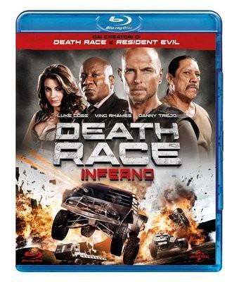 La copertina di Death Race: Inferno (blu-ray)