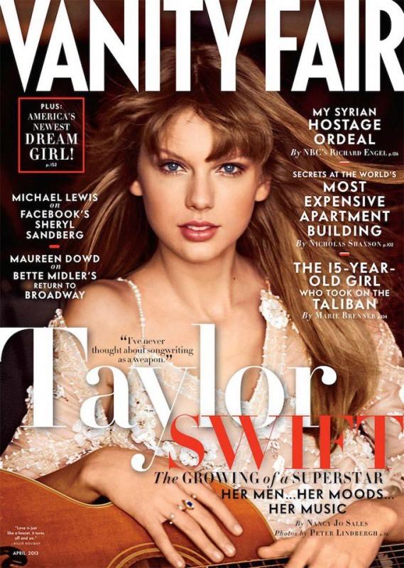 Taylor Swift su Vanity Fair USA - marzo 2013