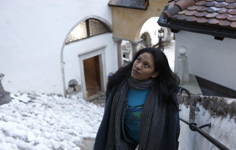 Un giorno devi andare: Amanda Fonseca Galvão in una scena