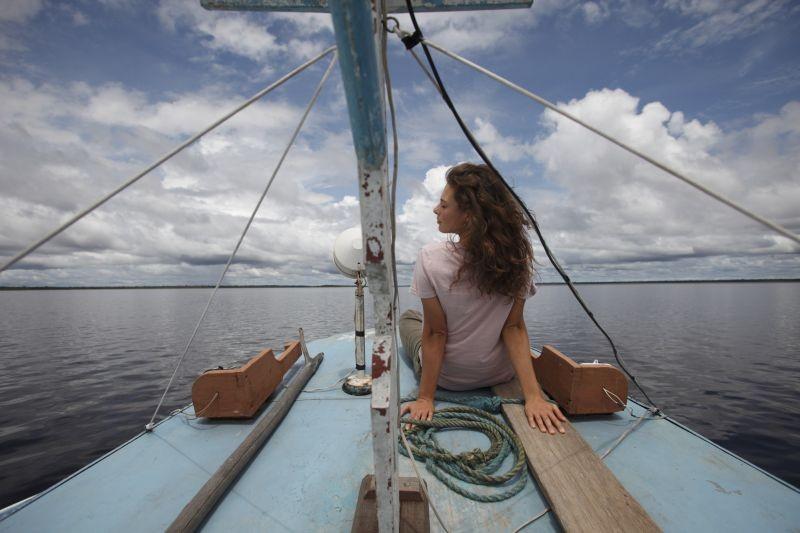 Un giorno devi andare: Jasmine Trinca in una bella immagine tratta dal film