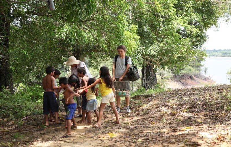Un giorno devi andare: Jasmine Trinca in una scena nei panni di Augusta, una giovane missionaria in Amazzonia