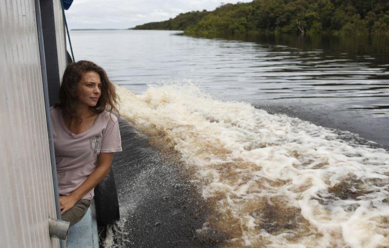 Un giorno devi andare: Jasmine Trinca nei panni di Augusta in una bella immagine tratta dal film