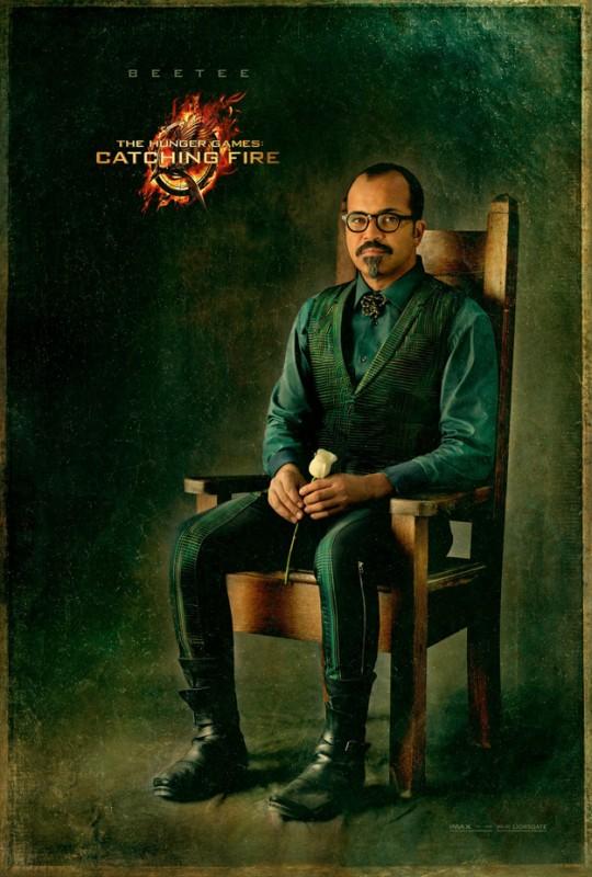 Hunger Games - La ragazza di fuoco: character poster di Jeffrey Wright