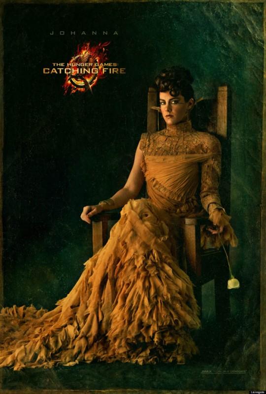 Hunger Games - La ragazza di fuoco: character poster di Jena Malone