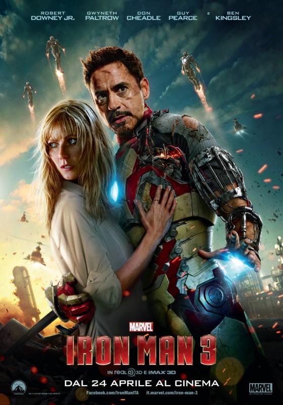 Iron Man 3: nuovo poster italiano