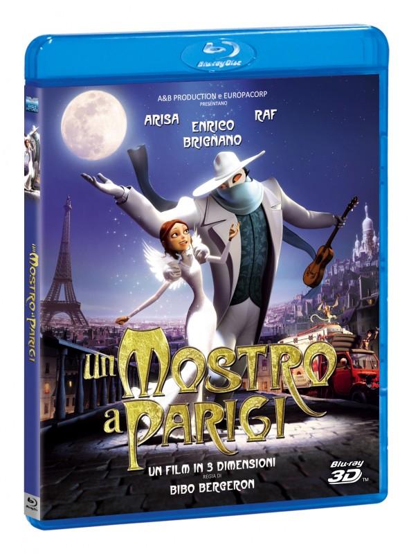 La copertina di Un mostro a Parigi (blu-ray)