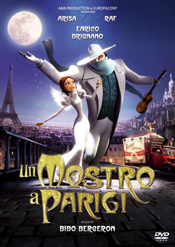 La copertina di Un mostro a Parigi (dvd)