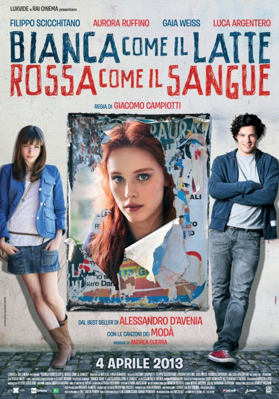 Bianca come il latte, rossa come il sangue: la nuova locandina del film