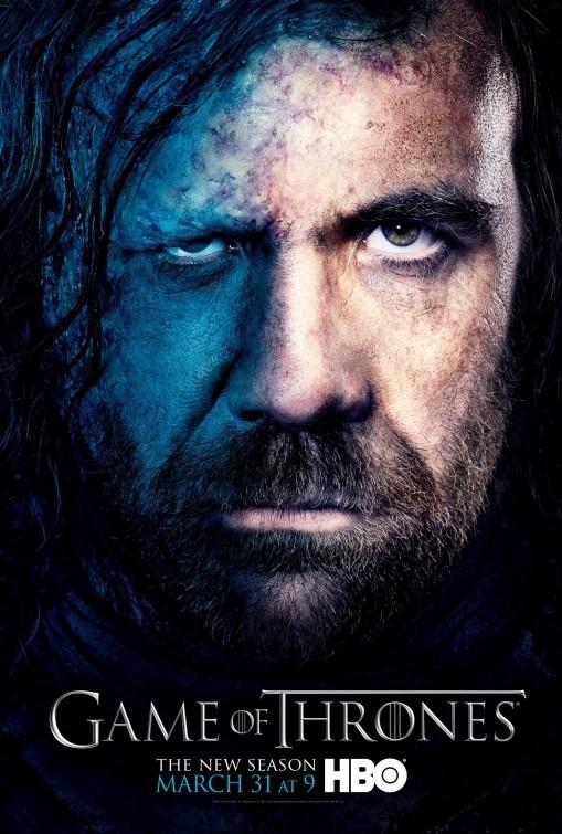 Game of Thrones: Character Poster de il Mastino (The Hound) per la stagione 3