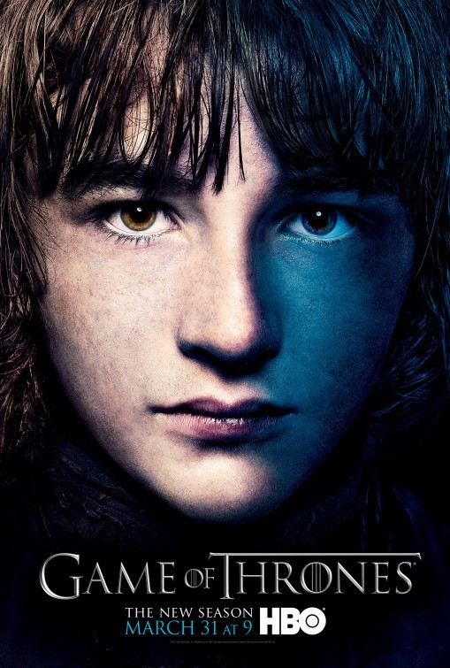 Game of Thrones: Character Poster di Bran per la stagione 3