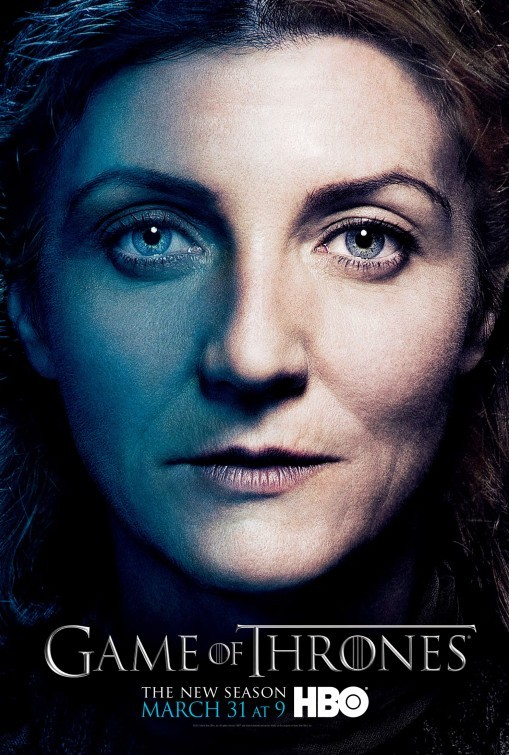 Game of Thrones: Character Poster di Catelyn per la stagione 3