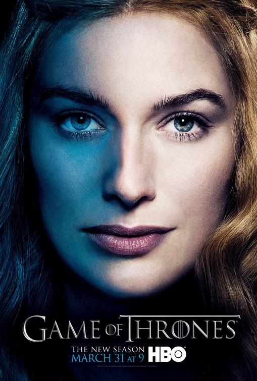 Game of Thrones: Character Poster di Cersei per la stagione 3