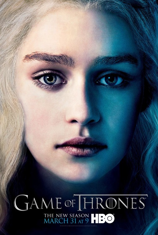 Game of Thrones: Character Poster di  Daenerys per la stagione 3