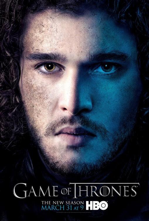 Game of Thrones: Character Poster di Jon Snow per la stagione 3